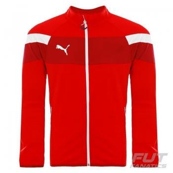 Jaqueta Puma Spirit II Polyester Tricot Vermelha