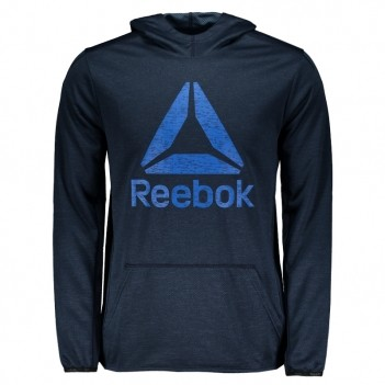 Moletom Reebok Wor Elitage Group Marinho