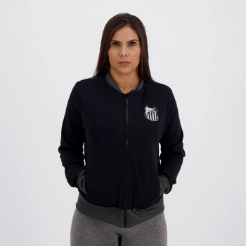 Jaqueta Santos Middle Feminina Preta