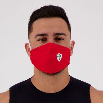 Kit de 5 Máscaras Portuguesa Vermelha