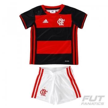 Kit de Uniforme Adidas Flamengo I 2016 Baby