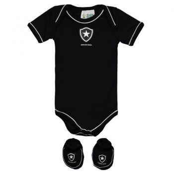 Kit Body Botafogo Preto