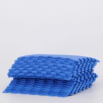 Kit de 20 Tatames 10mm Azul