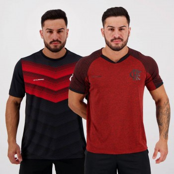 Kit de 2 Camisas Flamengo RAP