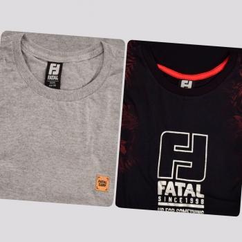 Kit de 2 Camisetas Fatal Success