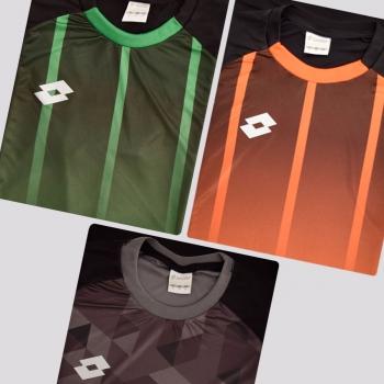 Kit de 3 Camisas Lotto Cubes