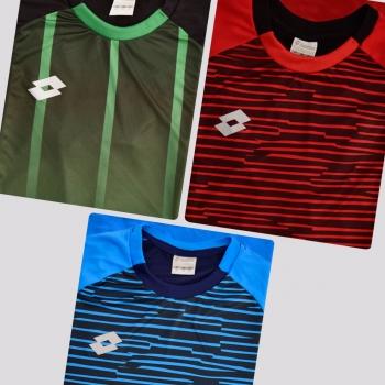Kit de 3 Camisas Lotto Variants