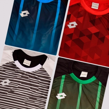Kit de 4 Camisas Lotto Cubes