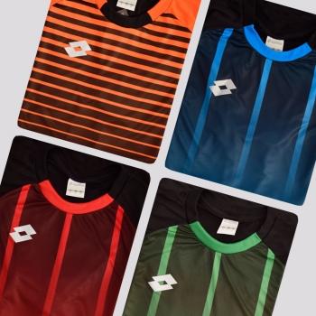 Kit de 4 Camisas Lotto Stripes