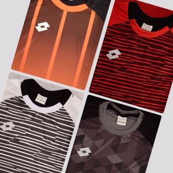 Kit de 4 Camisas Lotto Variants