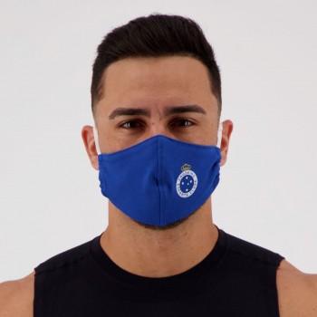 Kit de 5 Máscaras Cruzeiro Azul