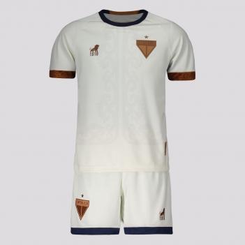 Kit Infantil Leão 1918 Fortaleza Copa do Nordeste 2021