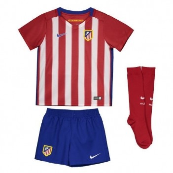 Kit de Uniforme Nike Atlético de Madrid Home 2016 Infantil