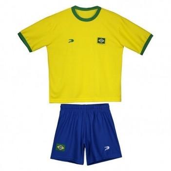 Kit de Uniforme Placar Brasil Infantil