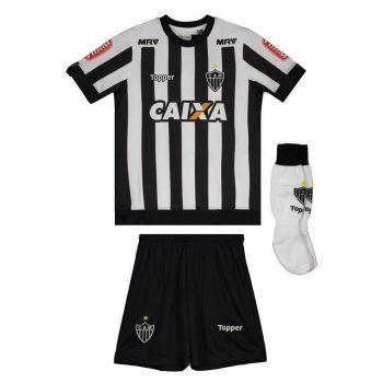 Kit de Uniforme Topper Atlético Mineiro I 2017 Infantil