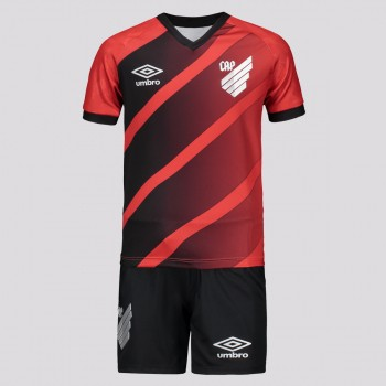 Kit Infantil Umbro Athletico Paranaense I 2020