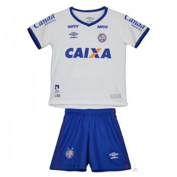 Kit de Uniforme Umbro Bahia I 2016 Infantil Branco