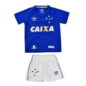 Kit  de Uniforme Umbro Cruzeiro I 2016 Infantil
