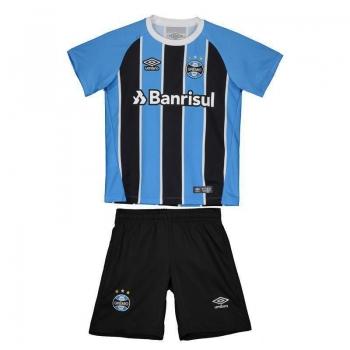 Kit de Uniforme Umbro Grêmio I 2017 Infantil
