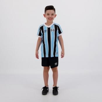 Kit Infantil Umbro Grêmio I 2021