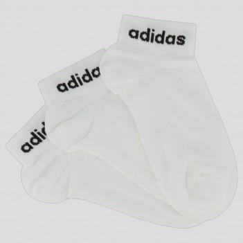 Kit Meia Adidas Ankle 3 Pares Juveni l