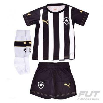 Kit Puma Botafogo I 2013 Infantil