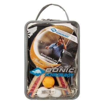 Kit Tênis de Mesa Donic Appelgren 2 Player Set 300 Com Rede