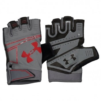 Luva Under Armour Coolswitch Flux Cinza