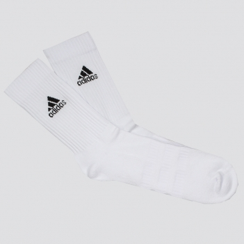 Meia Adidas Cush Cano Alto Branca