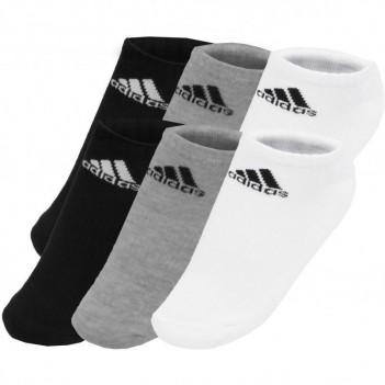 Meia Adidas Liner Cushion 3 Pares