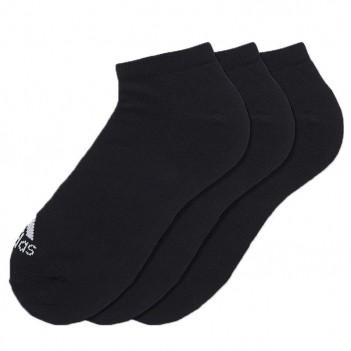 Meia Adidas Liner Thin 3 Pares Preta