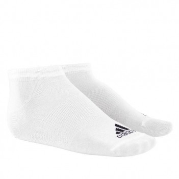 Meia Adidas Liner Thin Branca