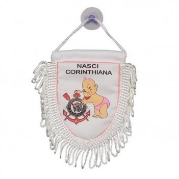 Mini Flâmula Corinthians Nasci Timão Feminina