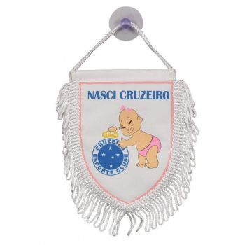 Mini Flâmula Cruzeiro Nasci Cruzeiro Feminina