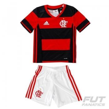 Mini Kit Adidas Flamengo I 2016 Infantil
