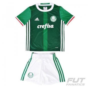 Mini Kit Adidas Palmeiras I 2016