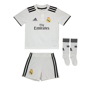 Kit Adidas Real Madrid Home 2019 Infantil