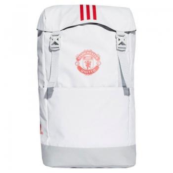 Mochila Adidas Manchester United Branca e Cinza