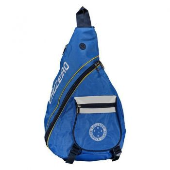 Mochila Cruzeiro Diagonal Azul