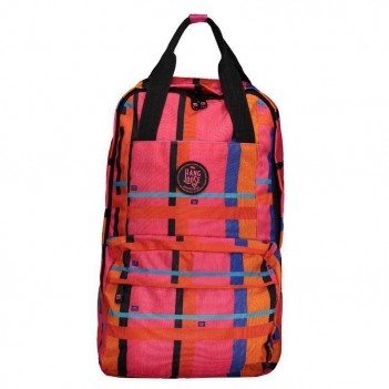 Mochila Hang Loose Check Girl Rosa