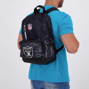Mochila NFL Oakland Raiders Preta
