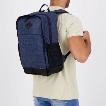 Mochila Puma S Backpack Marinho e Preta