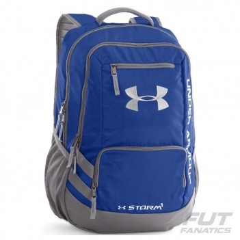 Mochila Under Armour Hustle II Azul