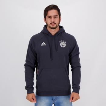 Moletom Adidas Bayern de Munique Viagem Chumbo