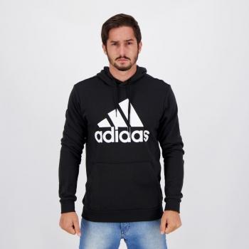 Moletom Adidas Essentials Big Preto