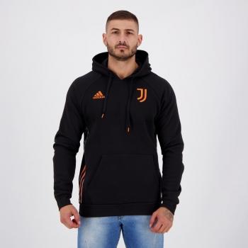 Moletom Adidas Juventus Viagem Preto