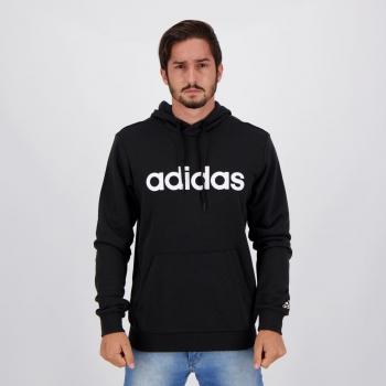 Moletom Adidas Logo Linear Preto