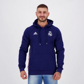 Moletom Adidas Real Madrid Viagem Marinho