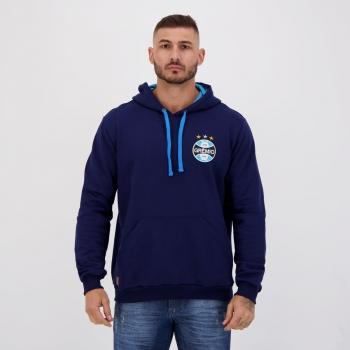 Moletom Grêmio Confort Style Marinho