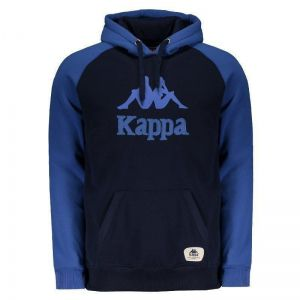 Moletom Kappa Authentic Greco Azul